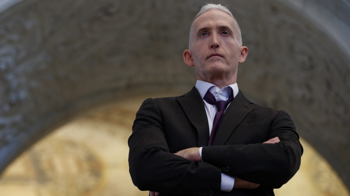 Trey Gowdy cautions GOP against being too hungry for 'indictment of certain high-level officials'