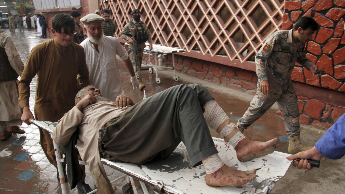 At least 69 dead in Afghanistan mosque bombing