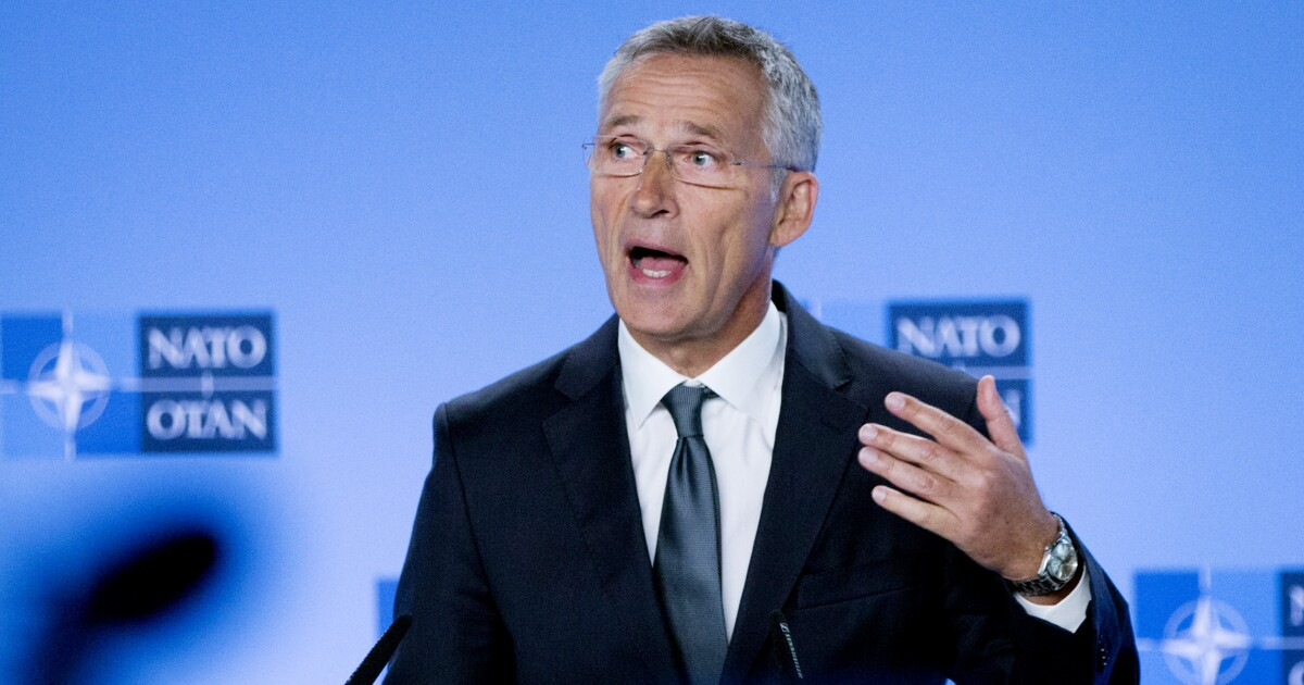 NATO chief says alliance must prepare 'to address the rise of China'