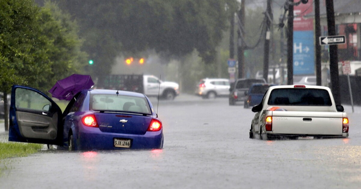 New Orleans floods as danger posed to Louisiana by impending
