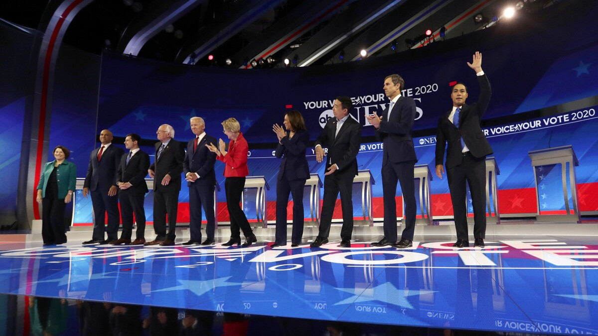 November Democrat debate could feature just eight candidates