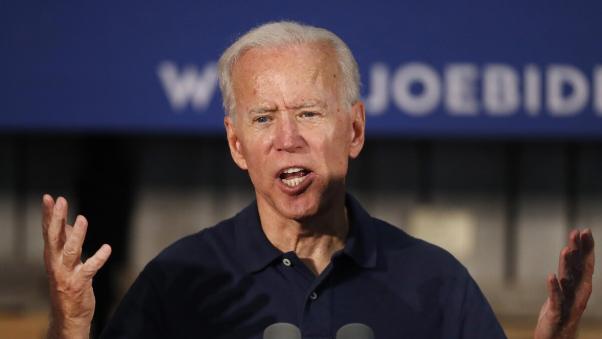 Joe Biden unveils healthcare plan casting 'Medicare for all' as 'getting rid of Obamacare'