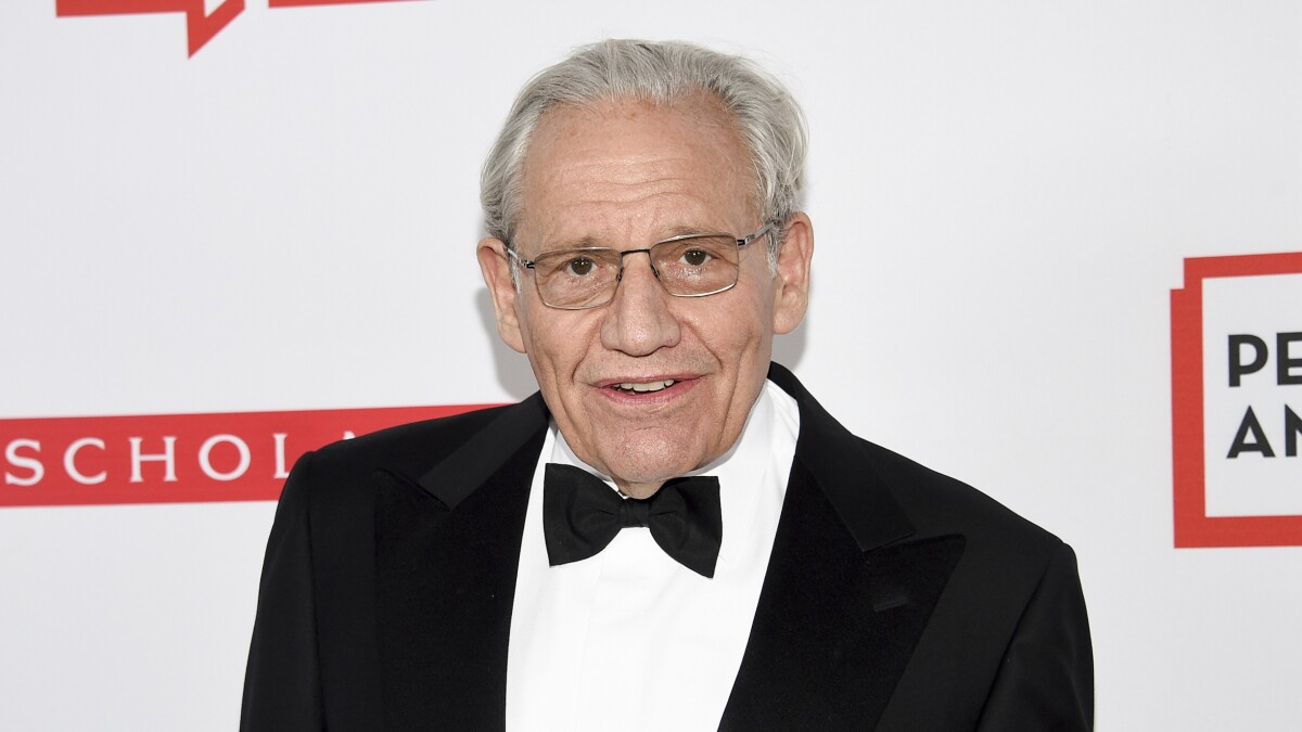'The audience is over him': Bob Woodward booed during event with reporters who broke Harvey Weinstein scandal