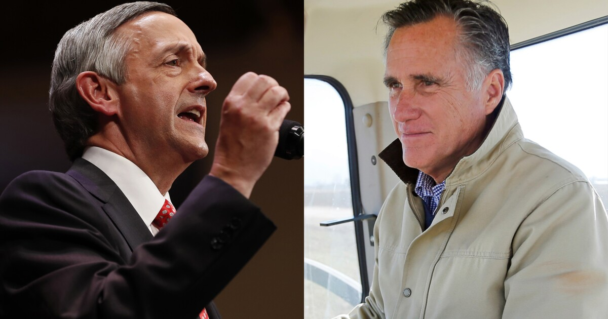 If Robert Jeffress is a bigot, then Mitt Romney is too