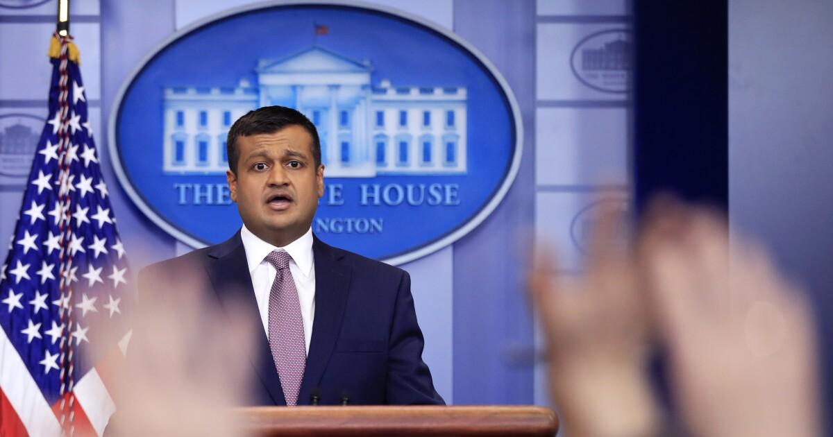 The Trump revolving door: Raj Shah, former deputy press secretary, cashes to lobbying firm