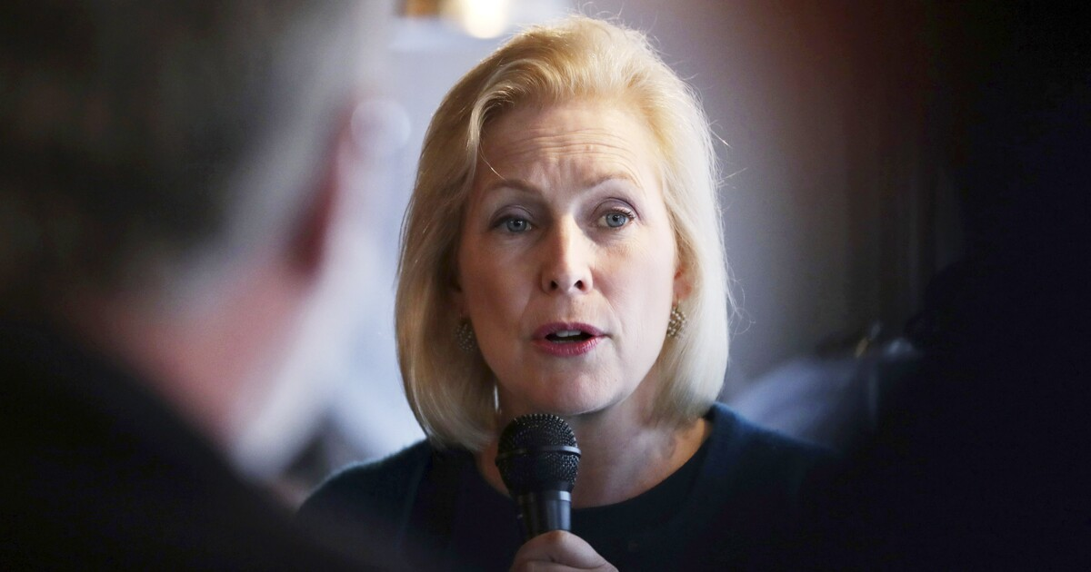 Gillibrand's father once lobbied on behalf of Trump