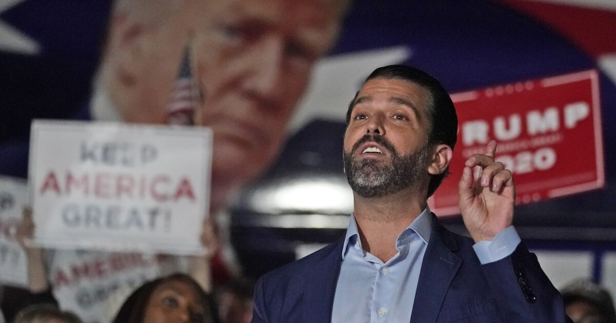 2024 vision: Here's who Donald Trump Jr. thinks should be the GOP nominee if his father doesn't run