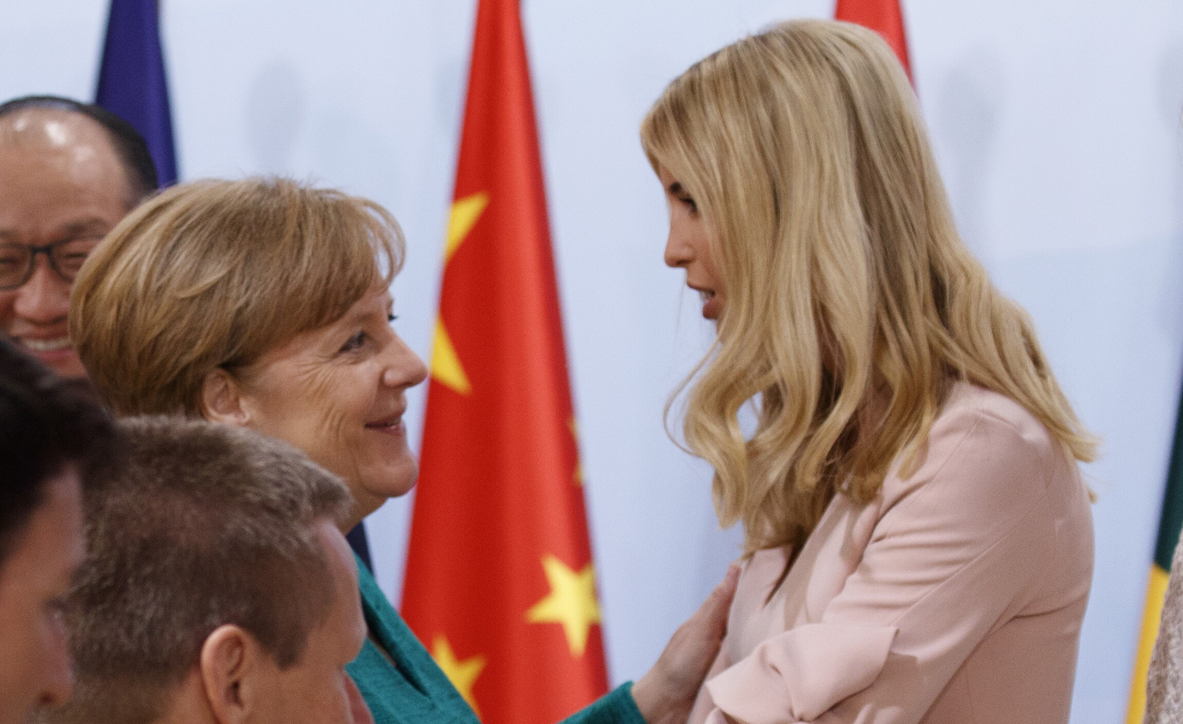 Angela Merkel Offers Defense Of Ivanka Trump For Sitting In For Her