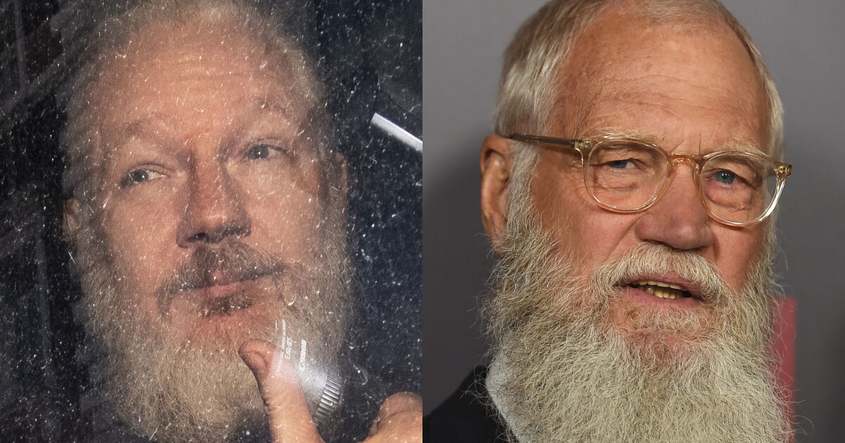 Why is the internet comparing Julian Assange to David Letterman?
