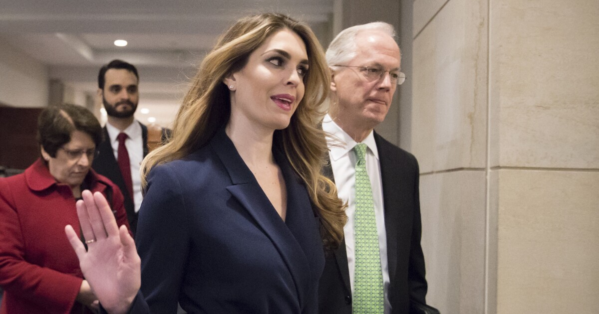 hope hicks to testify