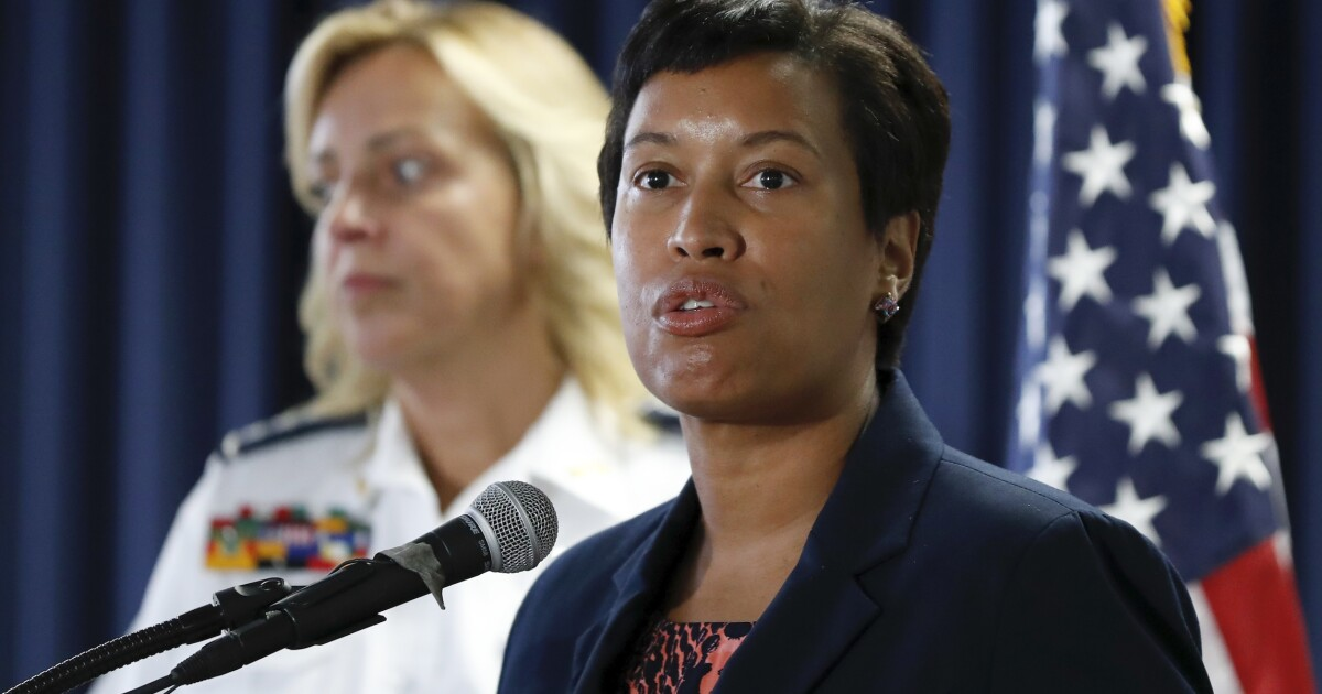 What will Muriel Bowser do when she finds out her stay-at-home order disproportionately affects minorities?