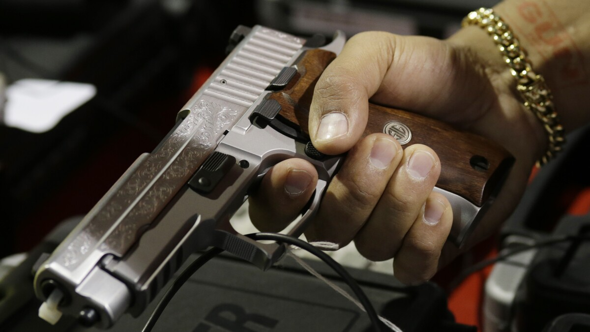 NRA says White House background check proposal is a 'non-starter'