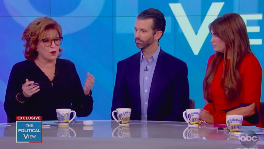 donald trump jr on the view - photo #22