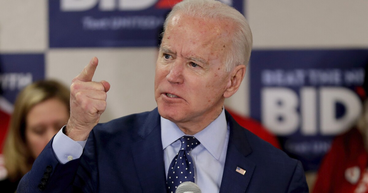 Biden promises one-term presidency if his 'energy and mental acuity' decline