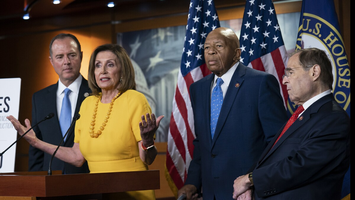 Democrats engulfed in confusion over impeachment plans