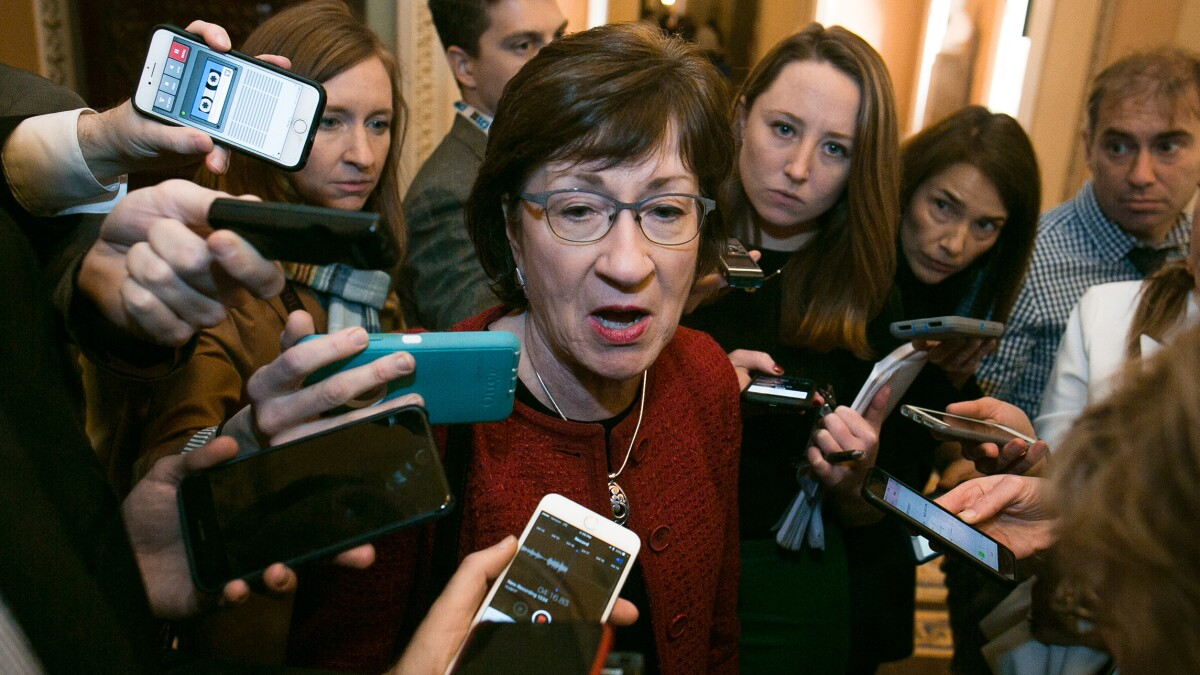 'Strong position to flip': Susan Collins is top Democratic target in Senate battle
