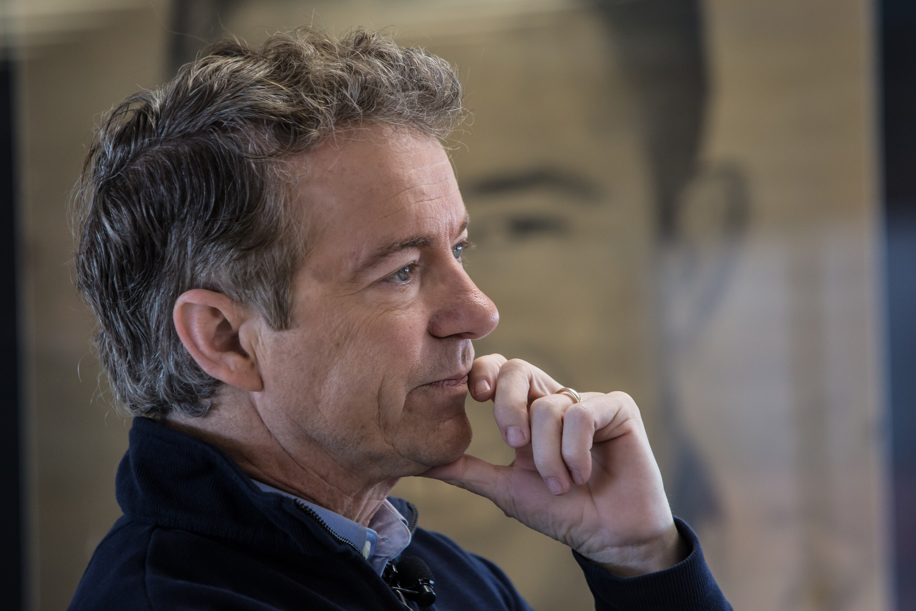 Rand Paul Thoughtful