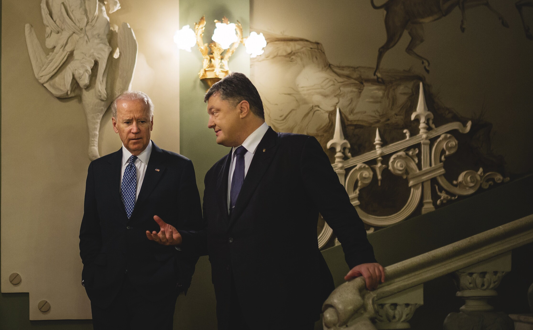 Joe Biden visited Ukraine six times in eight years while vice president