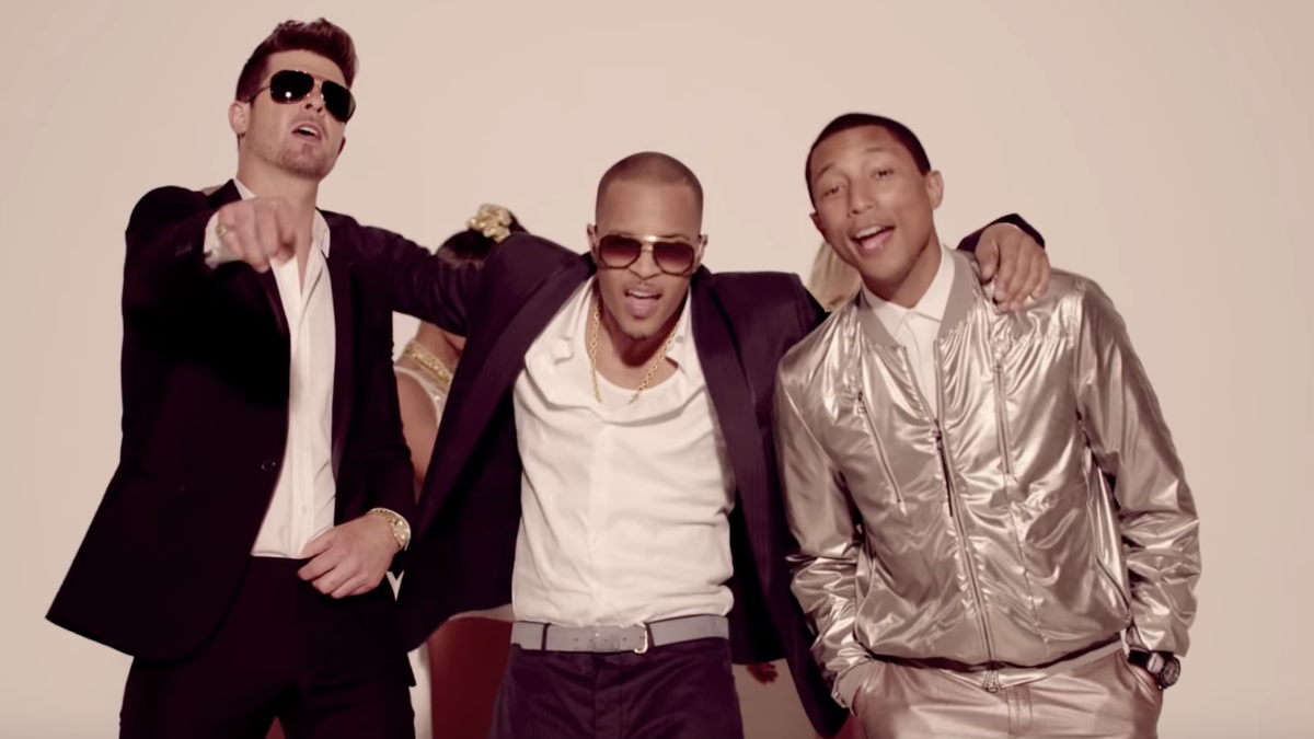 Pharrell Williams is not really sorry about <i>Blurred Lines</i>