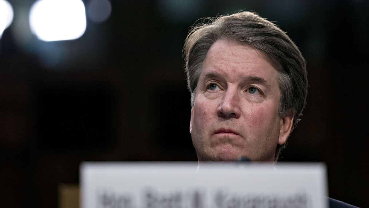 Would-be witness in Kavanaugh case shows rare courage