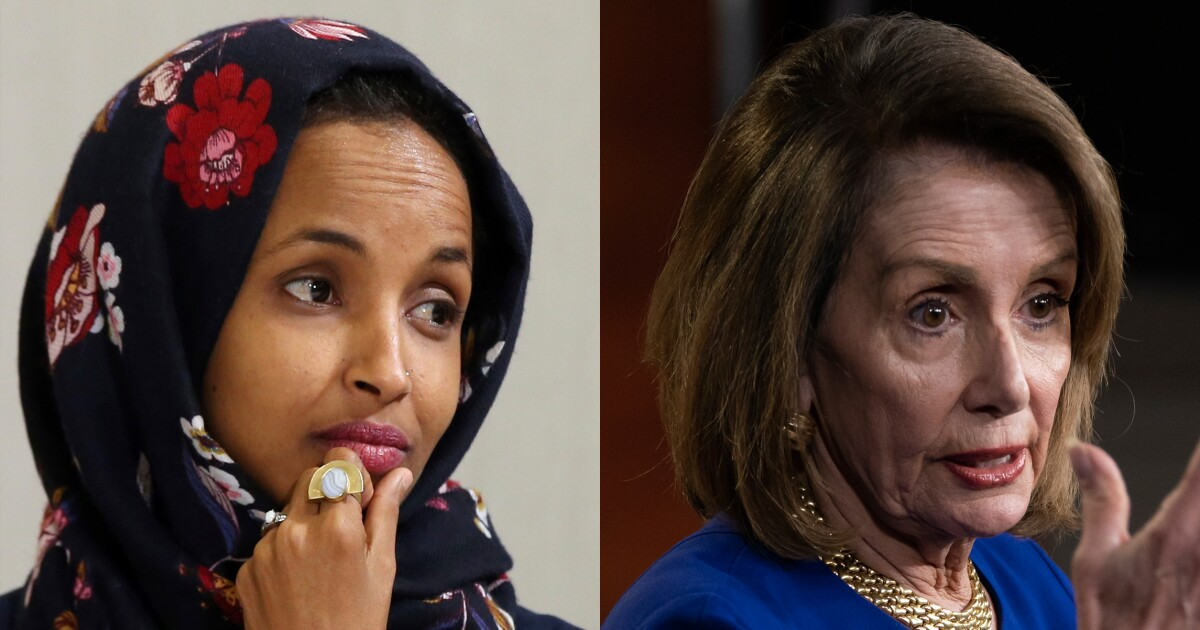 Here's what's going on in the war between Ilhan Omar and Nancy Pelosi