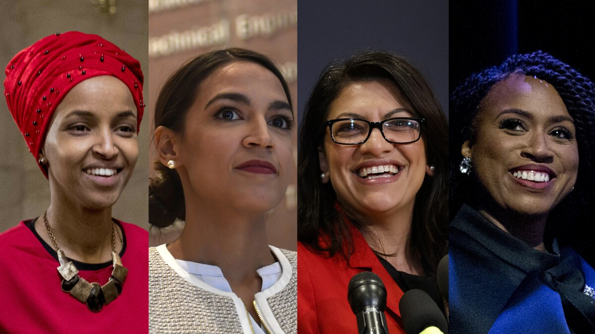 Congresswomen clap back after Trump tells them to 'go back' to their home countries