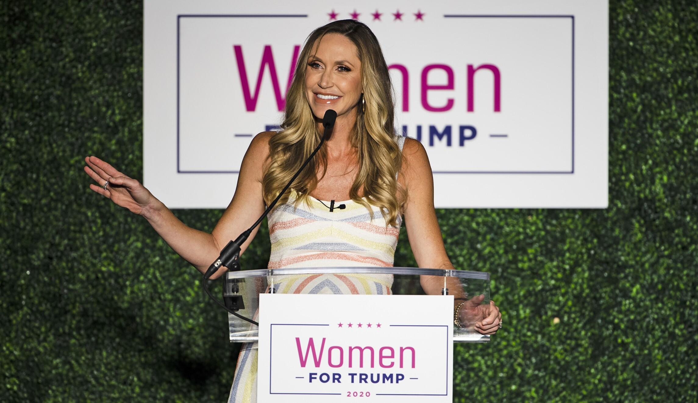 Lara Trump tries to fix her party's woman problem