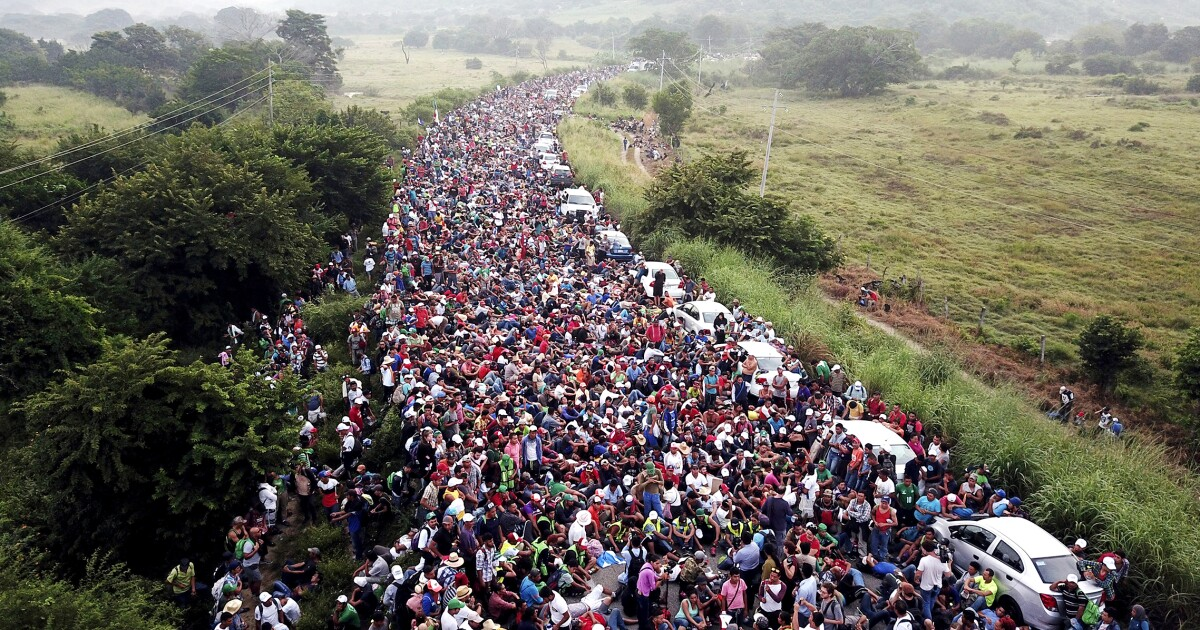 Image result for migrant caravan tracker