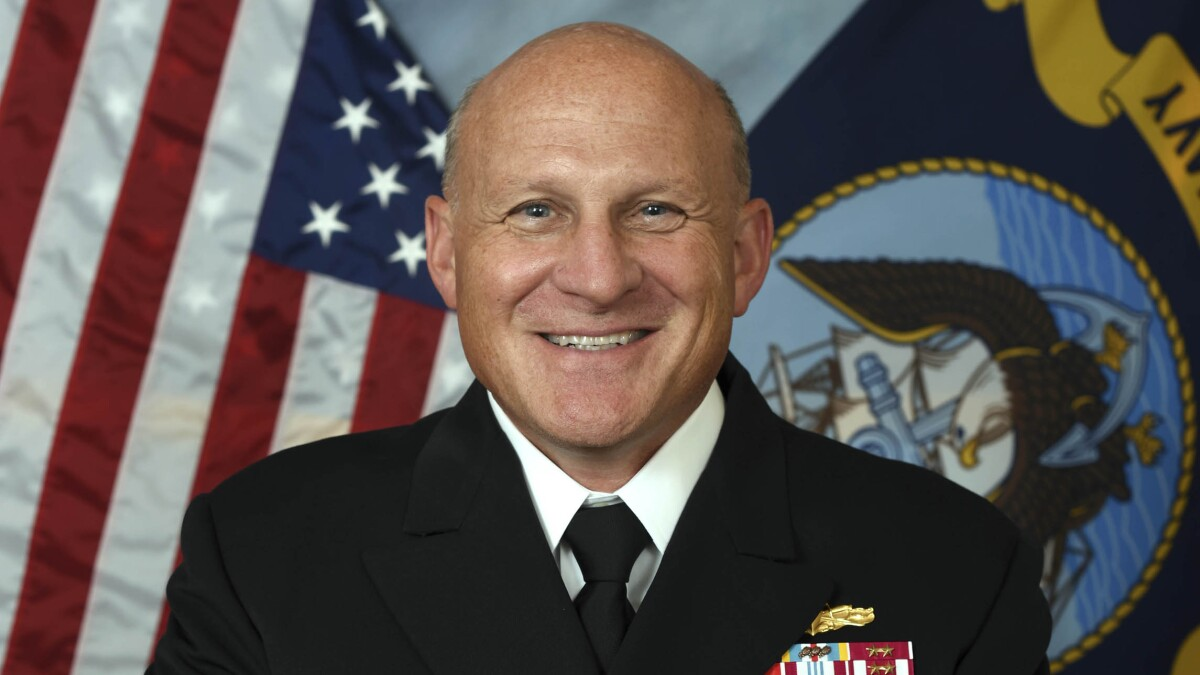 Trump nominates former fleet cyber commander to head the Navy