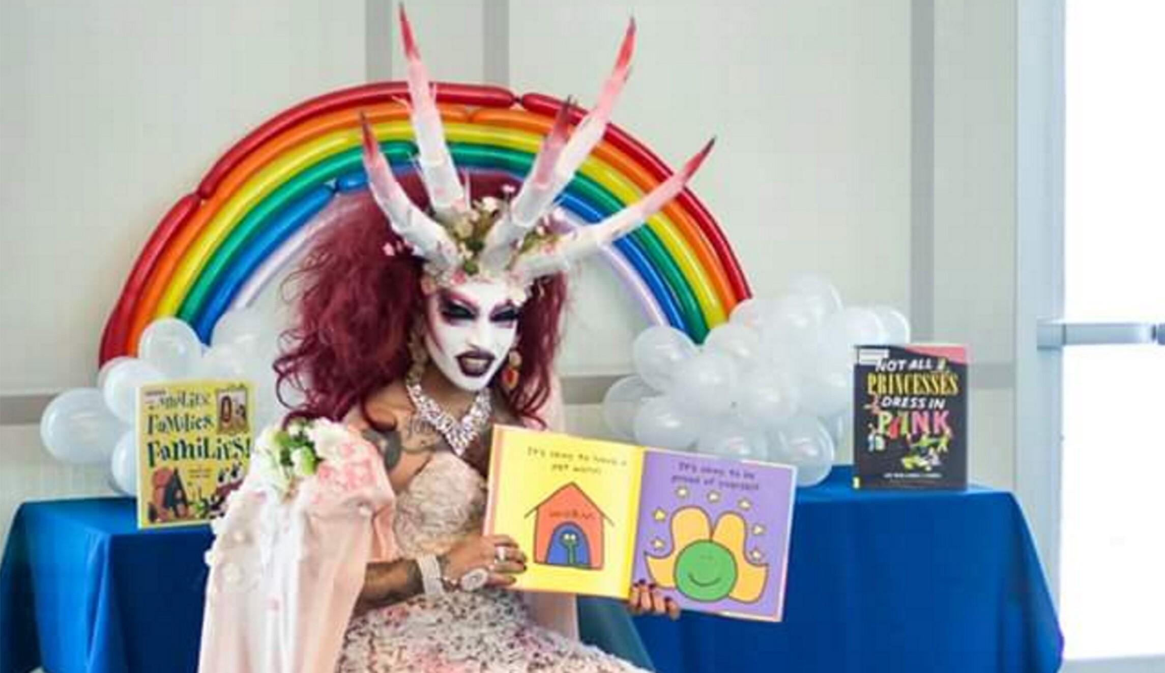 Image result for drag queen teach children