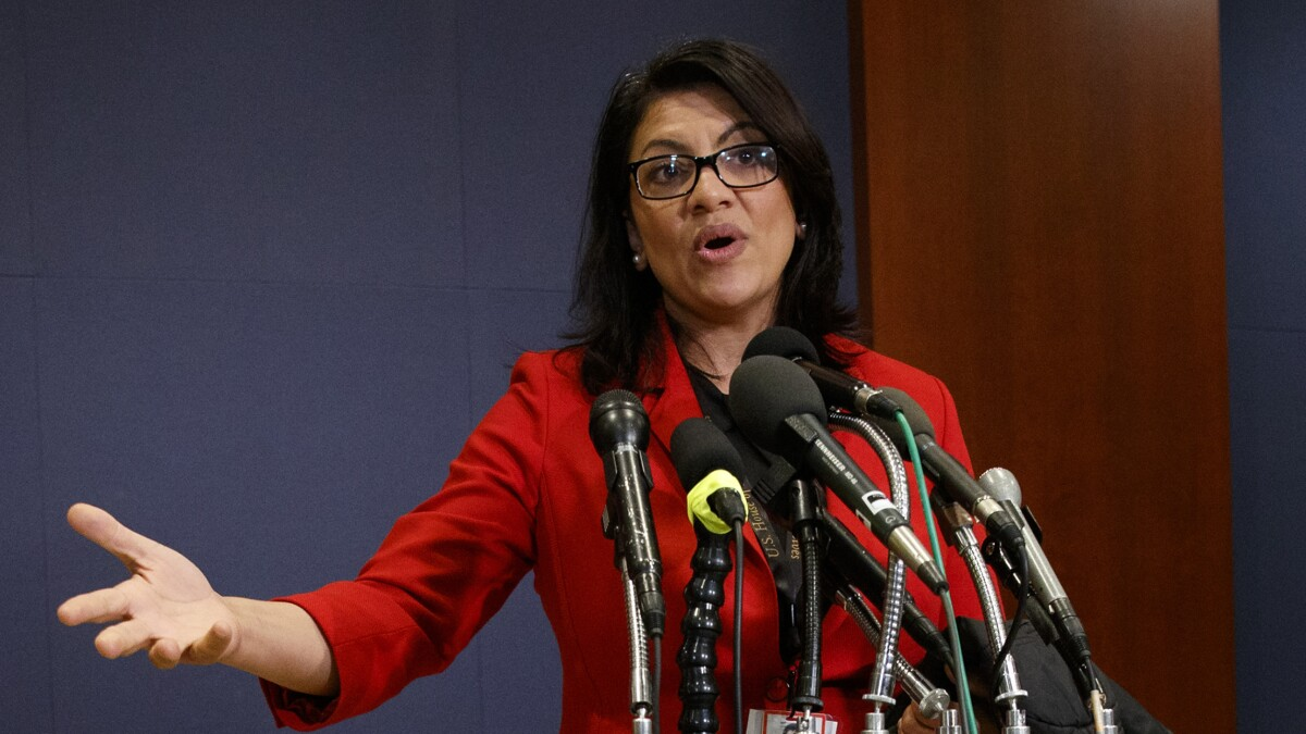 Tlaib tussles with Detroit police on Twitter over 'bulls--t' facial recognition software