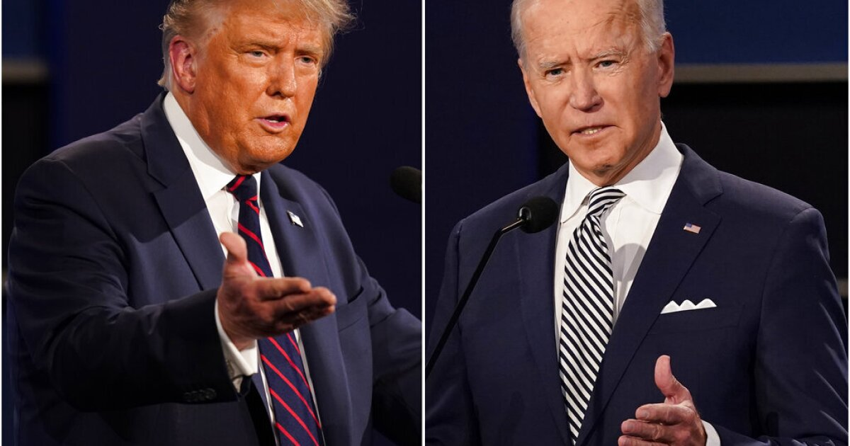 Early voting data in battleground states shows Trump outpacing national polls giving Biden an edge
