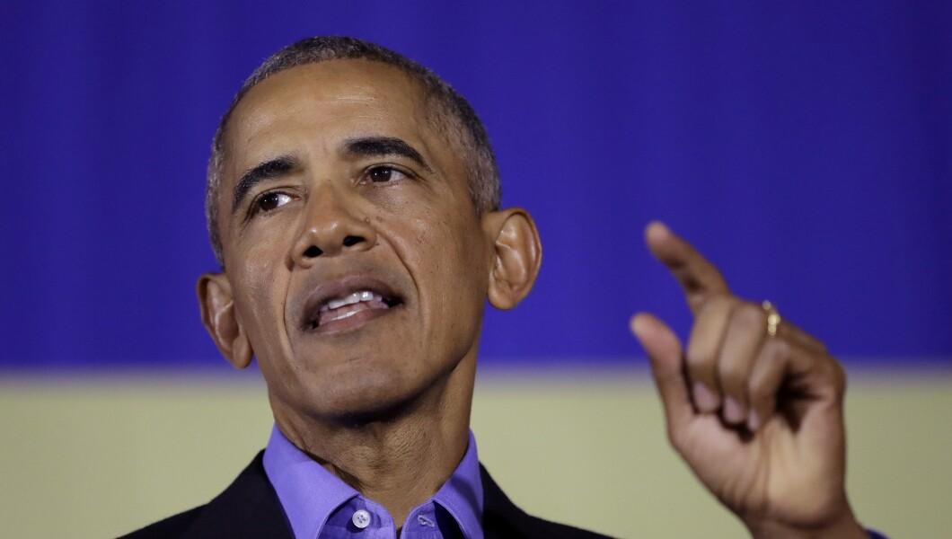 Former President Barack Obama.