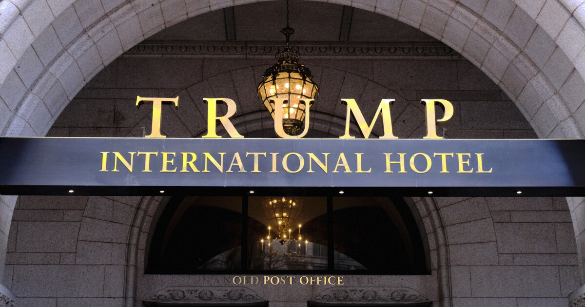 'He has to sell before he gets out of office': Real estate investor to bid on Trump's DC hotel