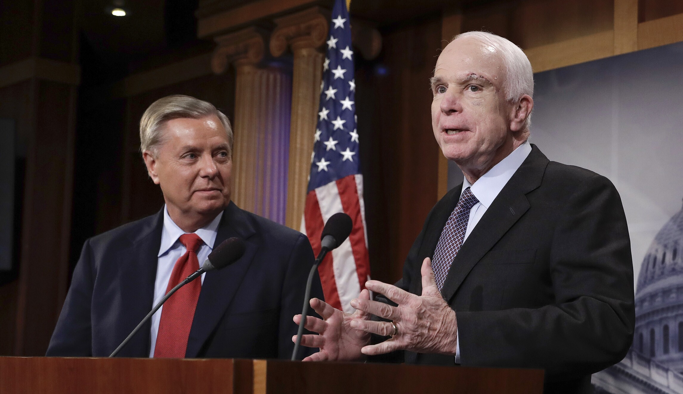 Image result for lindsey graham john mccain