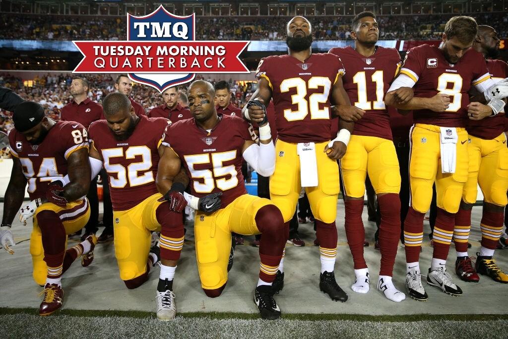 63ec263d9 Tuesday Morning Quarterback  Trump s War Against the NFL
