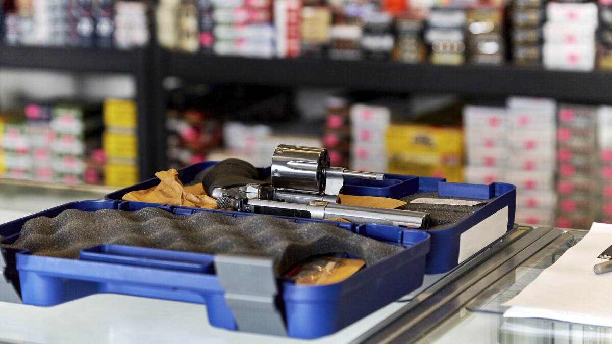 Reporter testing the 'availability of guns at Walmart' fails background check