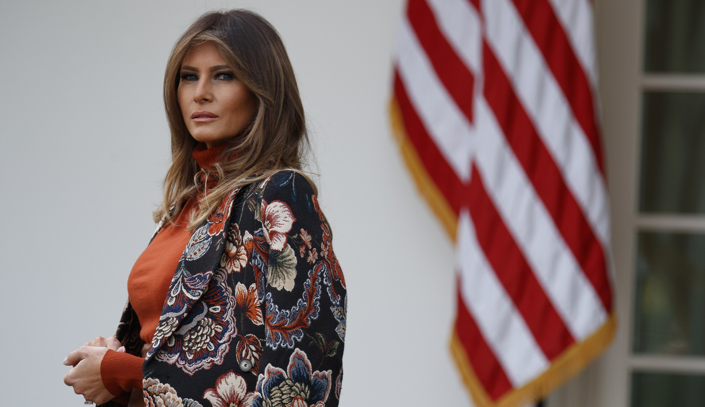 Melania Trump Fires Back At Report She Didn T Want To Be First Lady