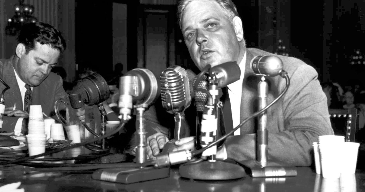 Whittaker Chambers and a new false witness