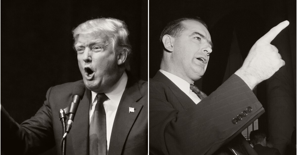 Donald Trump Says Robert Mueller Is Joseph McCarthy