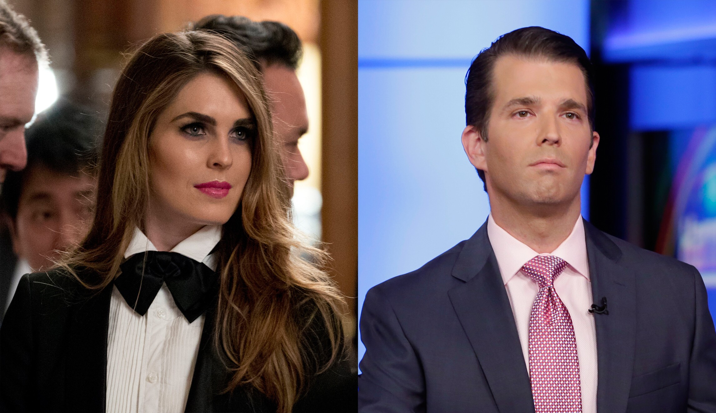 88d109863172 Donald Trump Jr. says he communicated with Hope Hicks, not father, on Trump  Tower response
