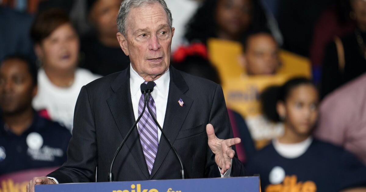 Deep blue Democratic Virginia spurns Bloomberg