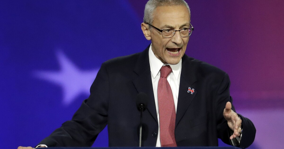 John Podesta: 'I'm the victim of a big lie campaign by the American President'