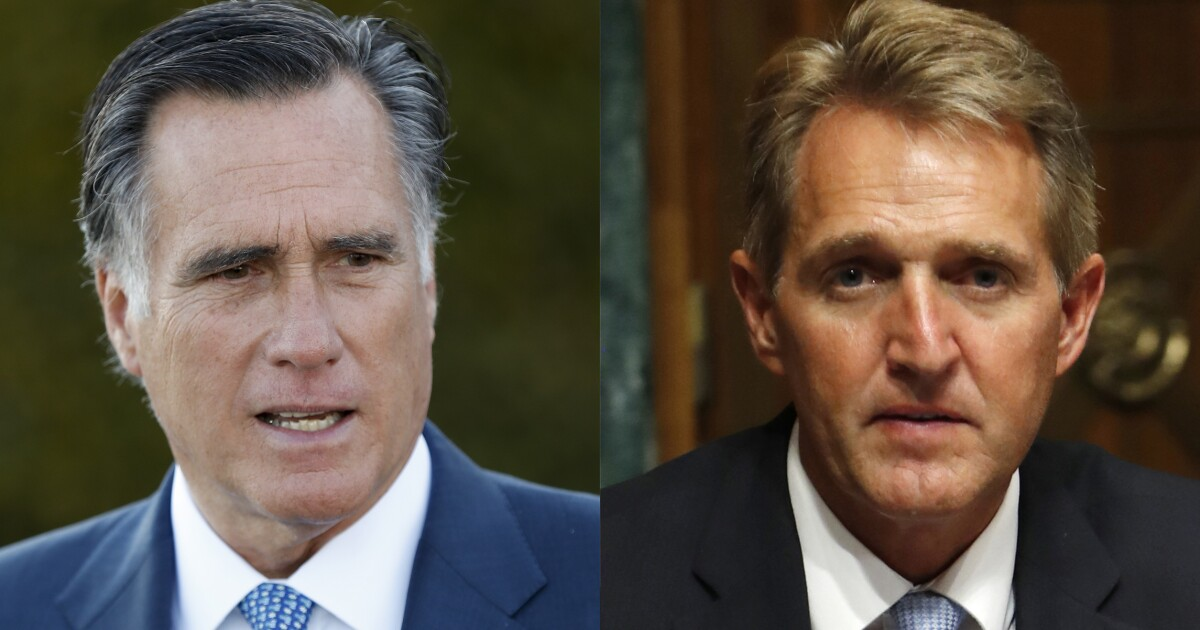 How Mitt Romney can avoid becoming the next Jeff Flake