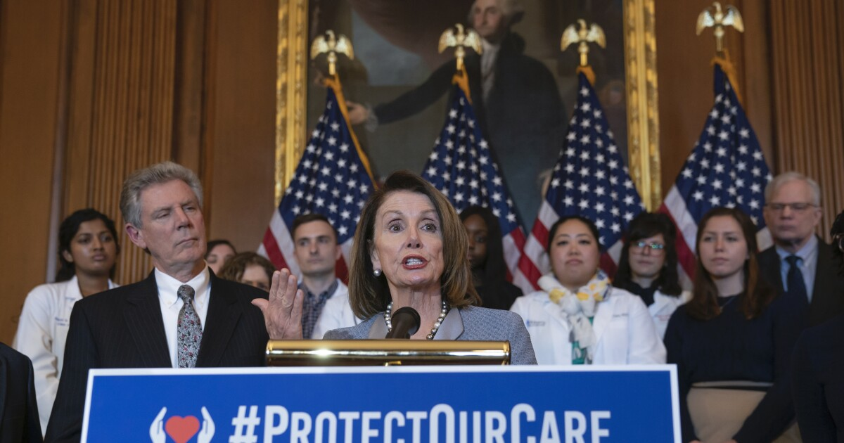 House Democrats pass bill to strengthen Obamacare