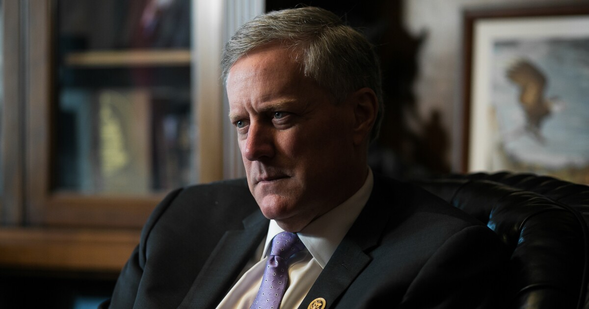 Mark Meadows: 'Two or three' people tied to Fusion GPS could be criminal referral targets