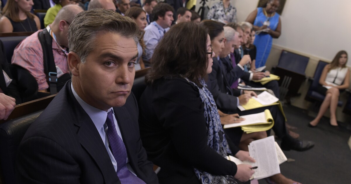 Stop Making A Martyr Of This Idiot Jim Acosta Did Not Assault Anyone