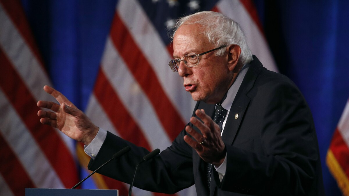 Bernie Sanders complains about campaign staff leaking complaints in labor dispute
