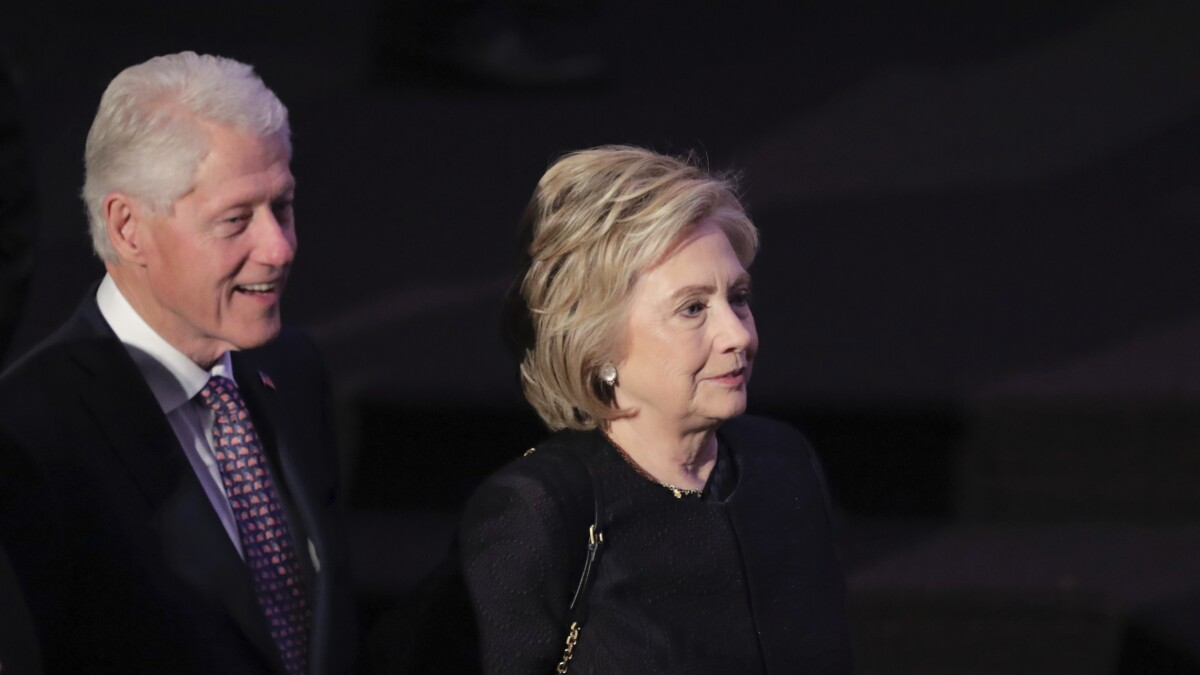 Hillary Clinton says opening up about Monica Lewinsky affair was 'emotionally draining experience'