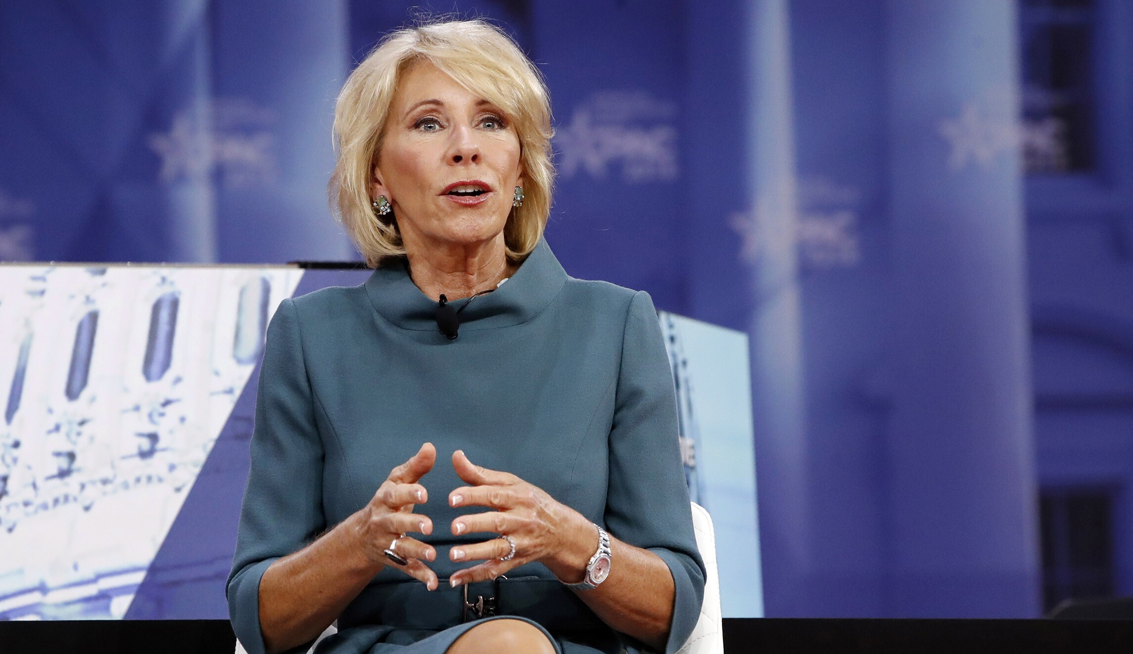 Betsy Devos Nomination Chilling >> On Campus Free Speech Betsy Devos Insists Good Ideas Are Always